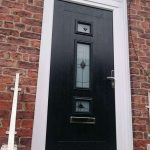 Black Jacobean with murano glass