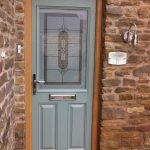 Chartwell green Victorian with Oak frame and Splendor glass