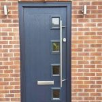 Slate Grey Cottage 4 with long bar handle