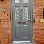 Slate grey Edwardian 4 with matching frame and Silvaner glass